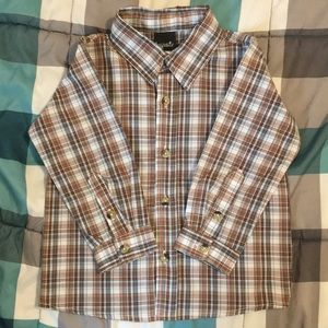 3T long sleeve button up